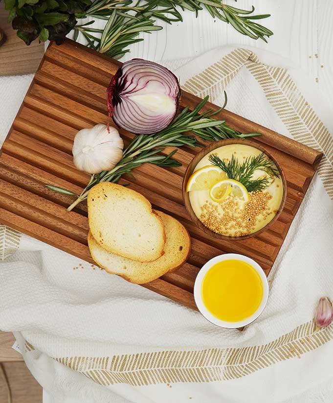 Домашний майонез с горчицей и горчичным маслом
