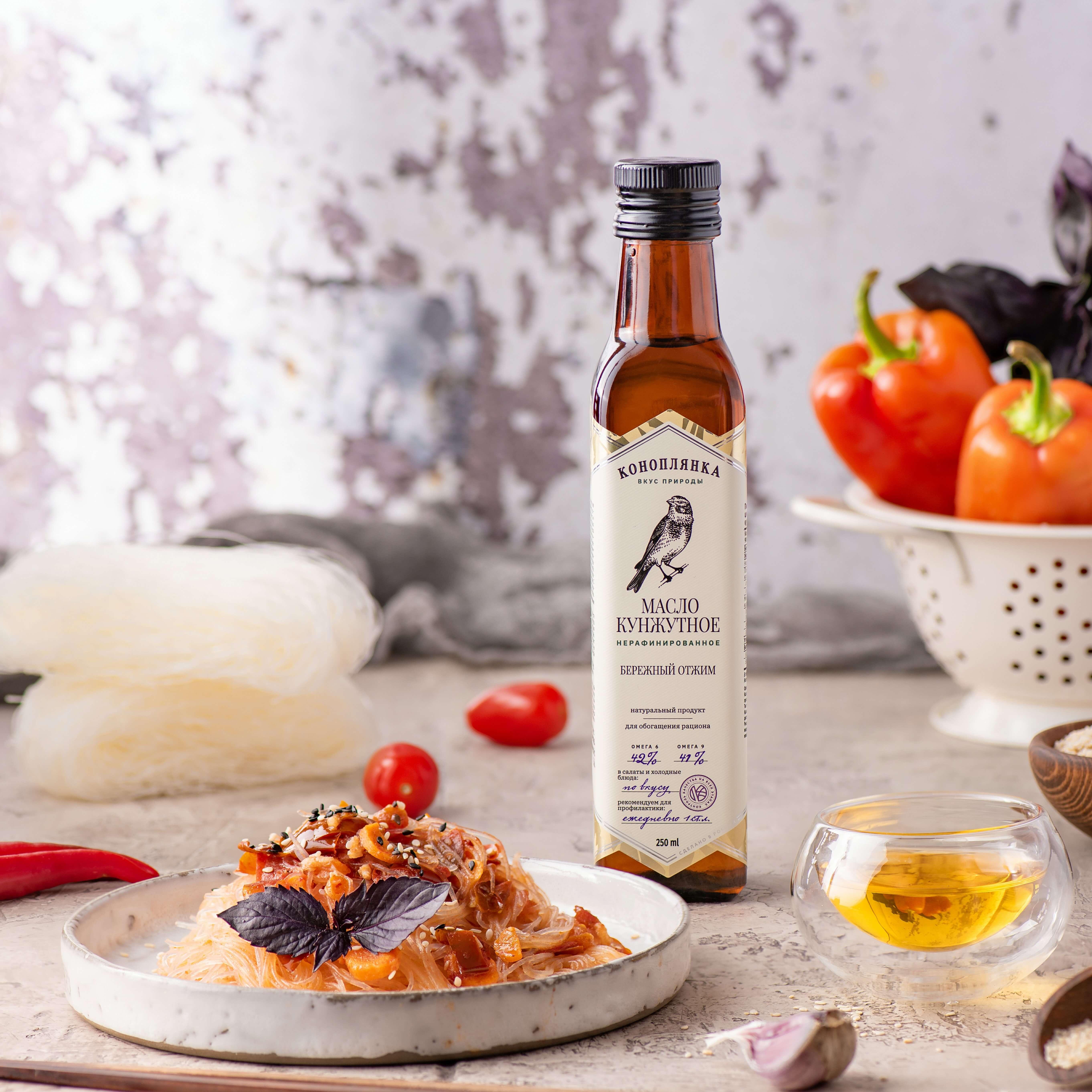 Фунчоза с кунжутным маслом